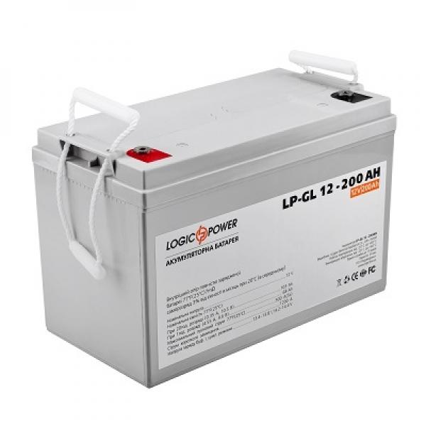 Аккумулятор гелевый LogicPower LP-GL 12-200 AH