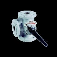 3-ходовой поворотный клапан Honeywell DR 80GFLA
