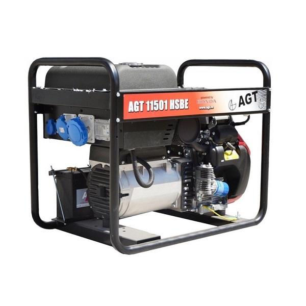 Генератор бензиновый AGT 11501 HSBE R16