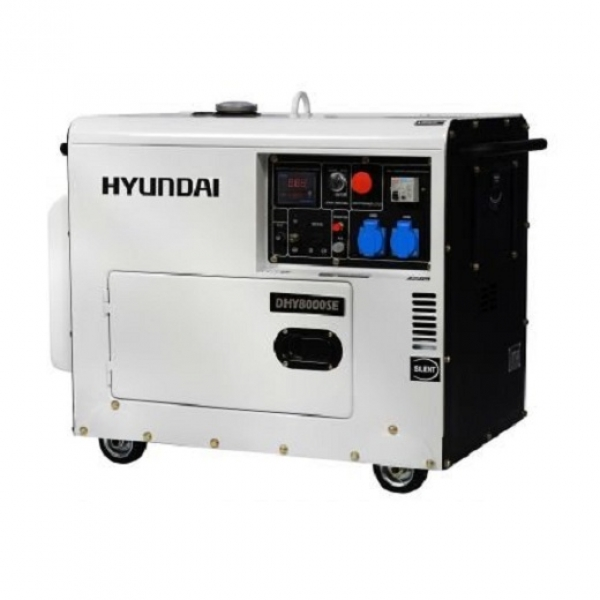 Генератор дизельный Hyundai DHY 8000SE