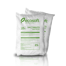 Таблетированная соль для умягчения Ecosoft Ecosil 25 кг