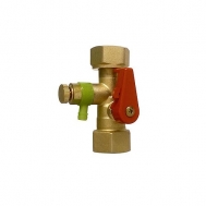 Клапан Reflex Lockshield SU R 3/4x3/4