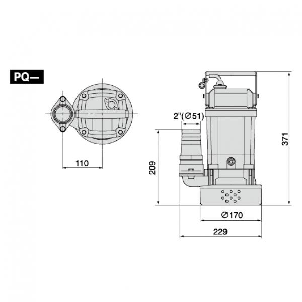 Погружной насос Koshin Ponstar PQ-55022